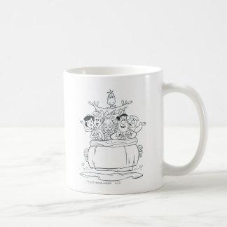 Flintstones Families1 Taza Clásica