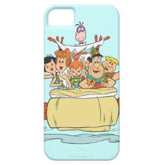Flintstones Families2 iPhone 5 Carcasa