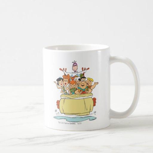 Flintstones Families2 Mugs