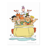 Flintstones Families2 Postcard