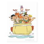 Flintstones Families2 Tarjeta Postal