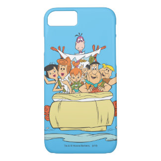 Flintstones Family Roadtrip iPhone 7 Case