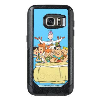 Flintstones Family Roadtrip OtterBox Samsung Galaxy S7 Case