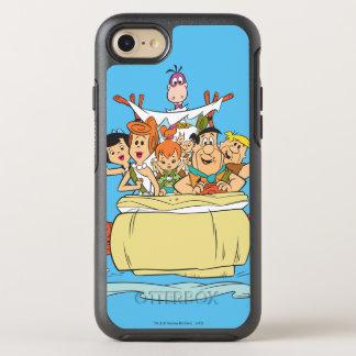 Flintstones Family Roadtrip OtterBox Symmetry iPhone 7 Case