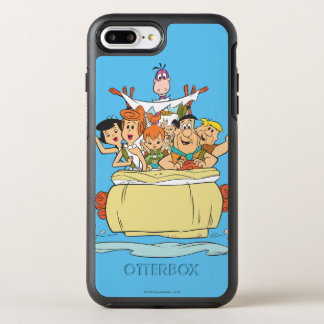 Flintstones Family Roadtrip OtterBox Symmetry iPhone 7 Plus Case