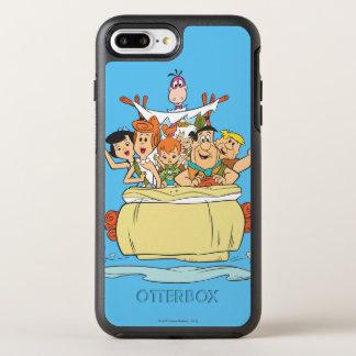 Flintstones Family Roadtrip OtterBox Symmetry iPhone 7 Plus Case