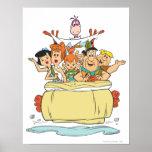 Flintstones Family Roadtrip Poster