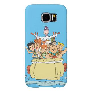 Flintstones Family Roadtrip Samsung Galaxy S6 Case