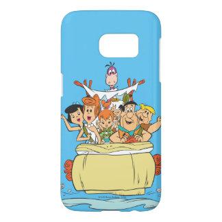 Flintstones Family Roadtrip Samsung Galaxy S7 Case