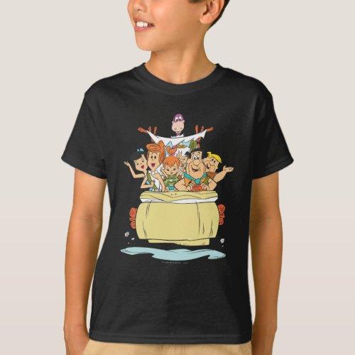 Flintstones Family Roadtrip T_Shirt