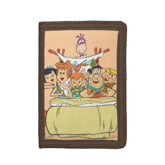 Flintstones Family Roadtrip Tri-fold Wallets
