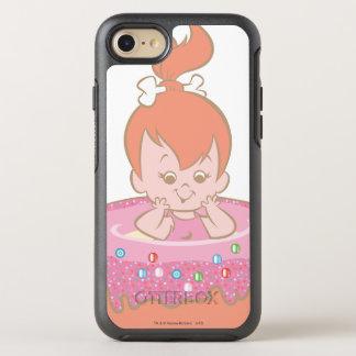 Flintstones Lovely Pebbles OtterBox Symmetry iPhone 7 Case