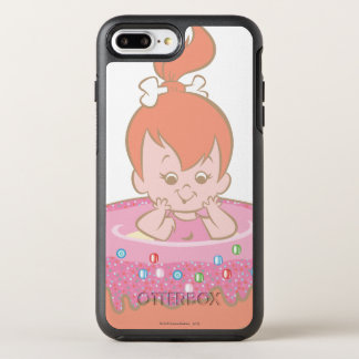 Flintstones Lovely Pebbles OtterBox Symmetry iPhone 7 Plus Case