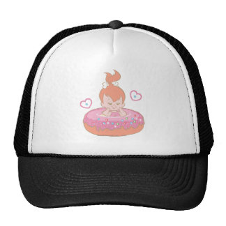 Flintstones Lovely Pebbles Trucker Hat