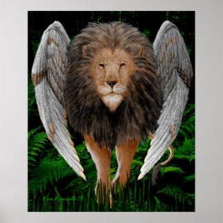 Flion Print (Winged Lion)