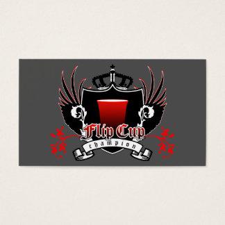 FLIP CUP champion loyalty card