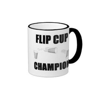Flip Cup Champion Ringer Coffee Mug
