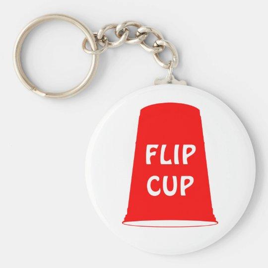 flip cup keychain