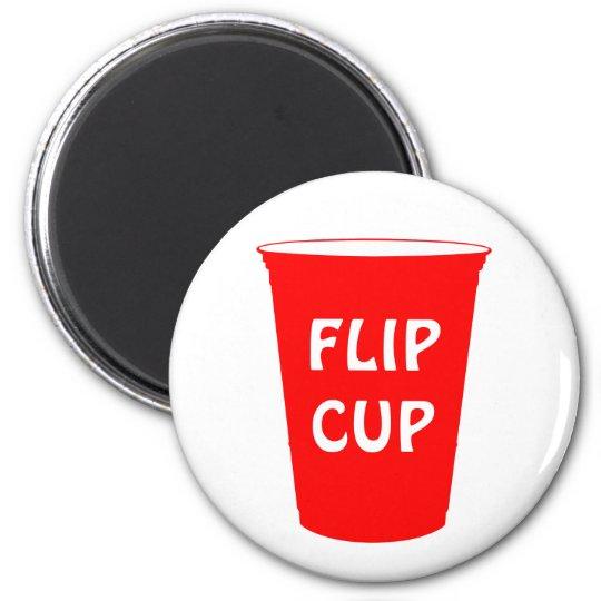 flip cup magnet
