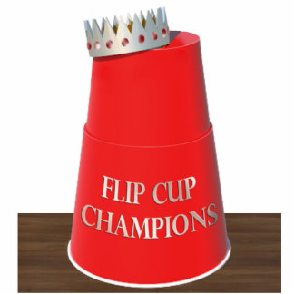 Flip Cup Trophy Acrylic Cut Outs