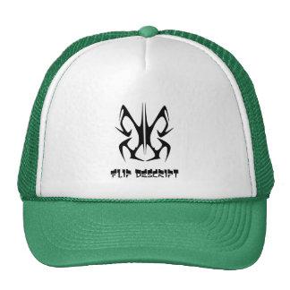 Flip descript hat