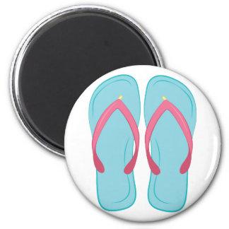 Flip Flop 2 Inch Round Magnet