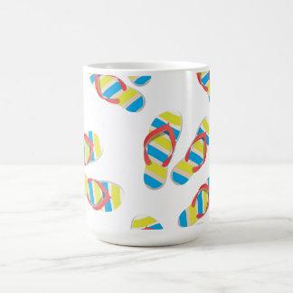 Flip Flop Beach Classic White Coffee Mug