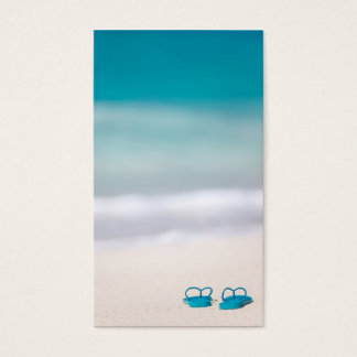 Flip-flop Business Card