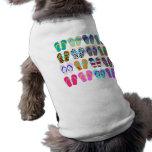 Flip-Flop Chart Doggie T-shirt