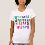 Flip-Flop Chart Tee Shirts