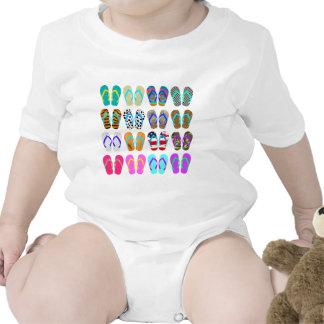 Flip-Flop Chart T Shirts