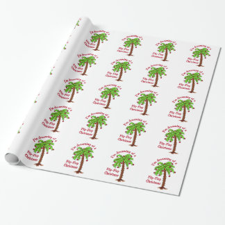 FLIP FLOP CHRISTMAS WRAPPING PAPER