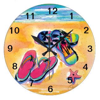 Flip-Flop -clock Large Clock