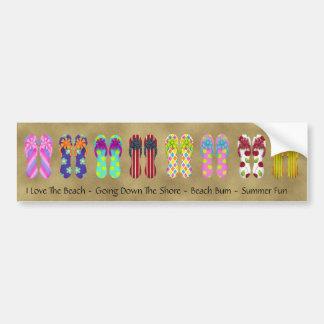 Flip Flop Collections Bumper Sticker