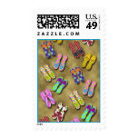 Flip Flop Collections Postage Stamp