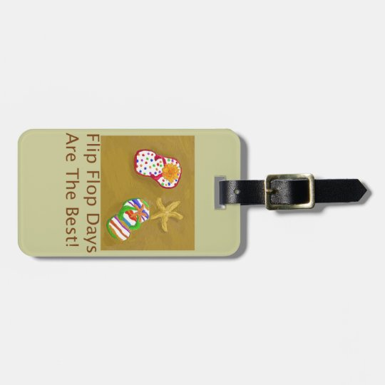 Flip Flop Days Bag Tag