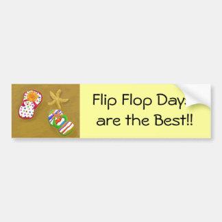Flip Flop Days Bumper Sticker