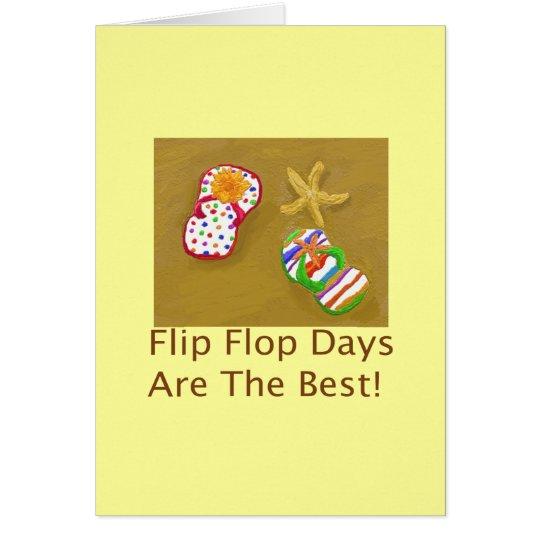 Flip Flop Days Card