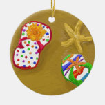 Flip Flop Days Christmas Tree Ornaments