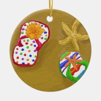Flip Flop Days Christmas Tree Ornaments