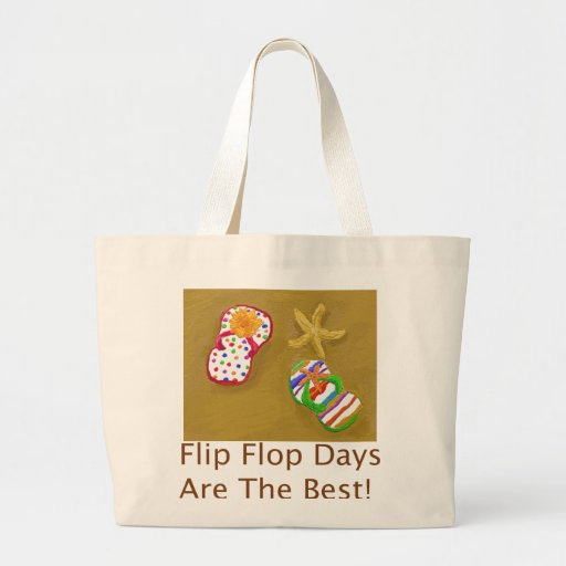 Flip Flop Days Tote Bags