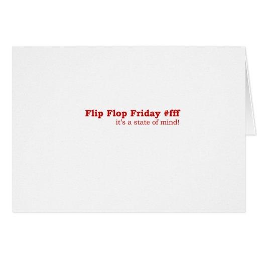 Flip Flop Friday Card