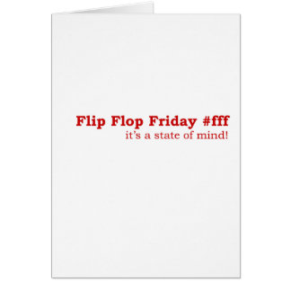 Flip Flop Friday Greeting Card