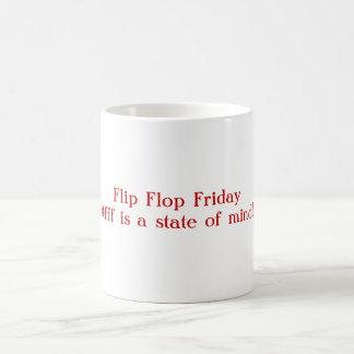 Flip Flop Friday Basic White Mug