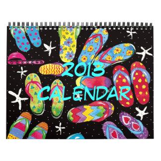 Flip-flop Fun 2013 Calendar