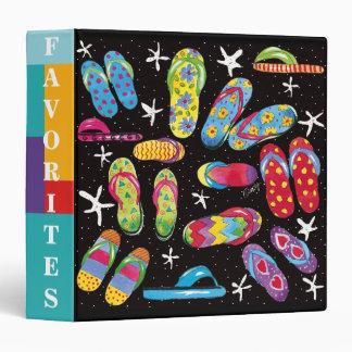 Flip-flop Fun favorites binder