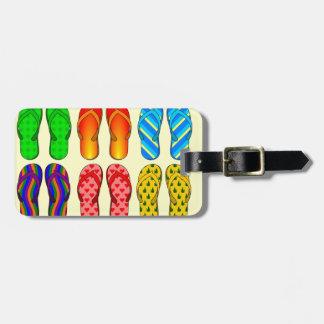 Flip-Flop Fun Luggage Tag