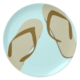 Flip-Flop Fun Plates