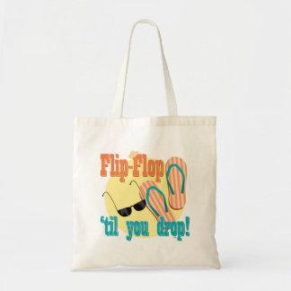 Flip-flop 'hasta que usted cae bolsa de mano