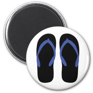flip-flop icon fridge magnet